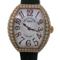 Franck Muller Heart Yellow gold 28mm Black United States of America, New York, NY
