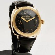 Panerai Pозовое золото Механические Коричневый Aрабские 47mm подержанные Special Editions