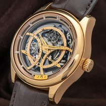 Jaeger-LeCoultre Master Grande Tradition Rose gold 44mm Transparent Arabic numerals United States of America, New York, New York