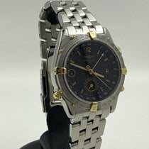 Breitling Duograph Gold/Steel 38mm Black No numerals
