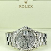 Rolex White gold 1989 Day-Date 36 pre-owned United States of America, California, Pleasanton