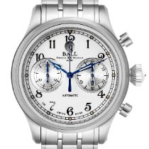 Ball Trainmaster Steel 43mm White Arabic numerals United States of America, Georgia, Atlanta