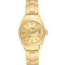 Rolex Oyster Perpetual Lady Date Yellow gold 26mm Champagne Roman numerals United States of America, Georgia, Atlanta