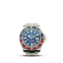 Rolex GMT-Master II White gold 40mm Blue No numerals Singapore, Singapore
