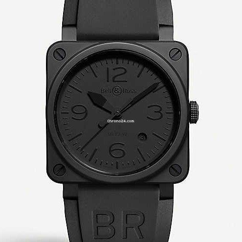 Bell & Ross BR 03-92 Ceramic BR0392-PHANTOM-CE 2021 новые