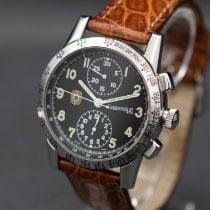 Eberhard & Co. Tazio Nuvolari Steel 39mm Black Arabic numerals United States of America, New Jersey, Long Branch