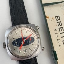 Breitling Chrono-Matic (submodel) new 1970 Automatic Chronograph Watch with original papers 2111