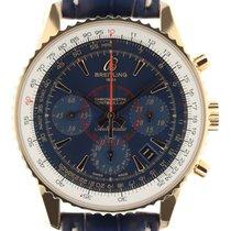 Breitling Montbrillant 01 Roségold 40mm Blau Keine Ziffern