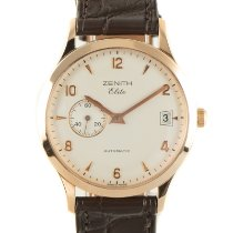 Zenith 17.0125.680 Yellow gold 2008 Elite 37mm pre-owned
