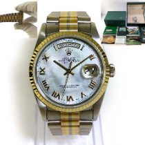 Rolex 36mm Perlmutt Römisch