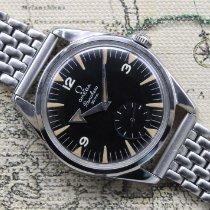 Omega Steel 36mm Black