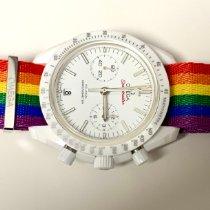 Omega Speedmaster Professional Moonwatch Ceramic 44mm White No numerals