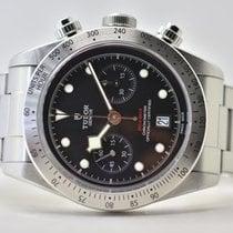 Tudor Black Bay Chrono Steel 41,5mm Black No numerals