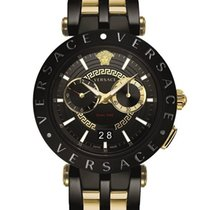 Versace Steel 46mm Quartz VEBV006/19 new