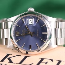 Rolex Oyster Precision Steel 34mm Grey