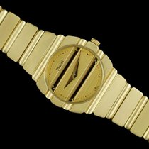 Piaget Yellow gold Quartz Champagne 23mm pre-owned Polo