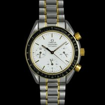 Omega Speedmaster Date Gold/Steel 39mm White United States of America, Georgia, Suwanee