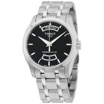 Tissot Couturier Steel 39mm Black United States of America, New Jersey, Somerset