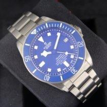 Tudor Pelagos Steel 42mm Blue No numerals