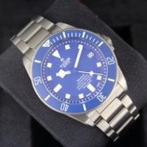 Tudor Pelagos Сталь 42mm Синий Без цифр
