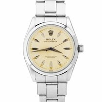 Rolex Oyster Perpetual 34 Steel 34mm Champagne United States of America, New York, Massapequa Park