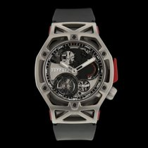Hublot Techframe Ferrari Tourbillon Chronograph Steel 45mm