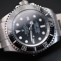 Rolex Sea-Dweller Deepsea Steel 44mm Black No numerals United Kingdom, Whitby- North Yorkshire