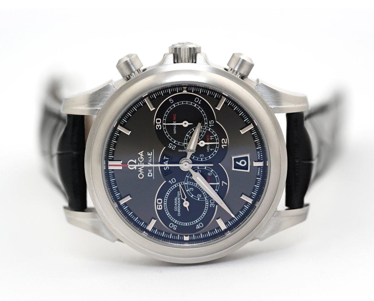 Omega De Ville Co-Axial 422.13.41.52.06.001 2010 pre-owned