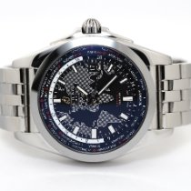 Breitling Galactic Unitime Steel 44mm Black No numerals United States of America, Florida, Aventura