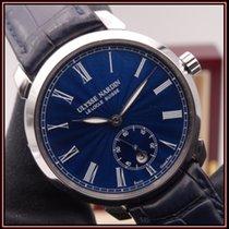 Ulysse Nardin Classico occasion 40mm Bleu Date Cuir de crocodile