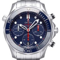 Omega Seamaster Diver 300 M Steel 41.5mm Blue