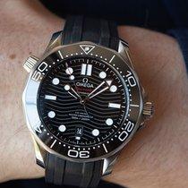 Omega 210.32.42.20.01.001 Steel 2021 Seamaster Diver 300 M 42mm new