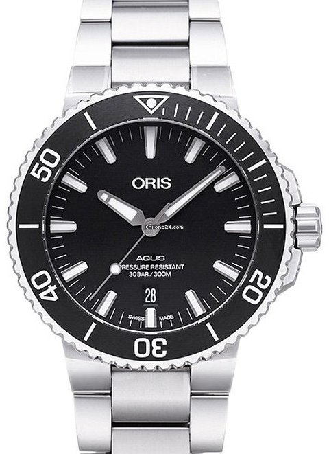 Oris Aquis Date 01 733 7730 4154 2021 new