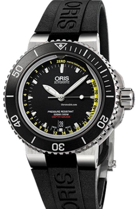 Oris Aquis Depth Gauge 01 733 7675 4154 2021 new