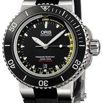 Oris Aquis Depth Gauge new 2021 Automatic Watch with original box and original papers 01 733 7675 4154