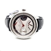 Maurice Lacroix new Manual winding Small seconds Luminous hands Power Reserve Display 46mm Steel Sapphire crystal