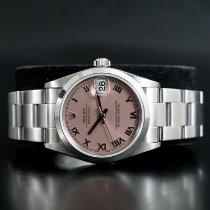 Rolex Lady-Datejust Steel 31mm Pink Roman numerals