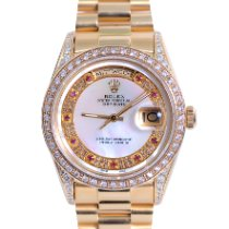 Rolex 18038 Yellow gold 1977 Day-Date 36 36mm pre-owned