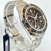 Seiko Steel Automatic Brown No numerals 44mm new Grand Seiko