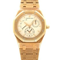 Audemars Piguet Royal Oak Dual Time Yellow gold 36mm Champagne United States of America, California, Beverly Hills