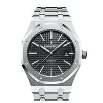 Audemars Piguet Royal Oak Selfwinding Сталь 41mm Черный Без цифр