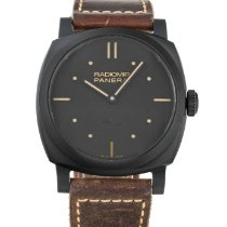 Panerai Radiomir 1940 3 Days pre-owned 48mm Black Leather