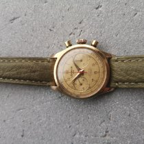Lemania Rose gold Manual winding Gold 35mm pre-owned