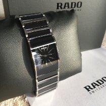 Rado Steel Quartz Black No numerals 24mm new Integral