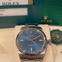 Rolex Oyster Perpetual 39 Acél 39mm Kék Számjegyek nélkül Magyarország, Sopron