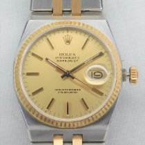 Rolex Datejust Oysterquartz Steel 36mm Champagne No numerals United States of America, Michigan, Warren