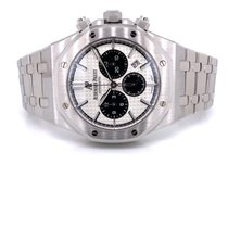Audemars Piguet Royal Oak Chronograph Steel 41mm Silver No numerals