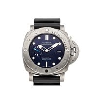 Panerai Luminor Submersible Titanium 47mm Blue No numerals United States of America, Pennsylvania, Bala Cynwyd