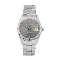 Rolex Oyster Perpetual Date Steel 34mm Grey No numerals United States of America, Pennsylvania, Bala Cynwyd