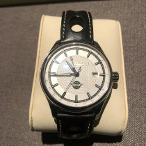 Frederique Constant Vintage Rally pre-owned Silver Date GMT